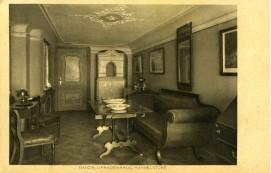Pocztowka Herbaciarnia w Domu Uphagena, ok. 1911 r.