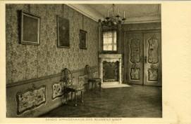 Pocztowka Pokoj Kwiatow w Domu Uphagena, ok. 1911 r.