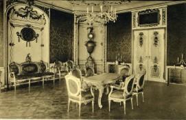 Pocztowka Salon w Domu Uphagena, ok. 1911 r.
