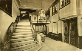 Pocztowka Sien w Domu Uphagena, ok. 1911 r.